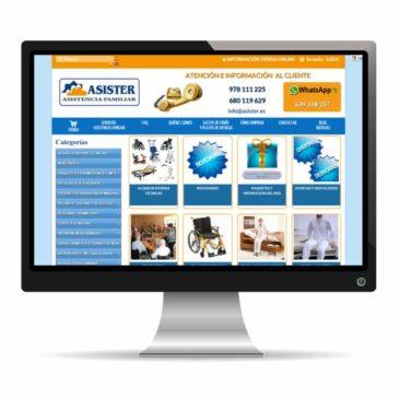 Asister tienda online de ortopedia