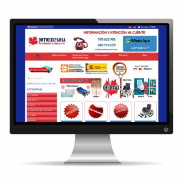 Ortohispania, venta de productos ortopédicos