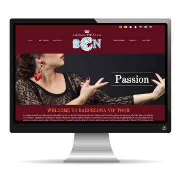 Pagina web para barcelonaviptour
